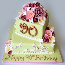 94 Birthday Cake Ideas For 90 Year Old